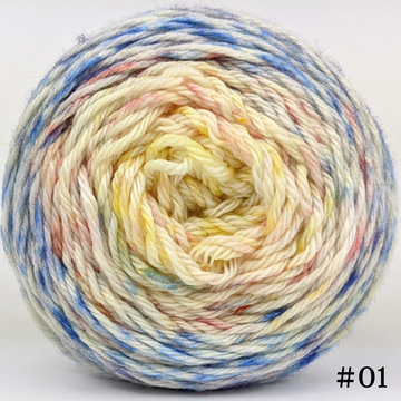 Knitcircus Yarns: Bundle of Joy 100g Impressionist Gradient, Ringmaster, choose your cake, ready to ship yarn
