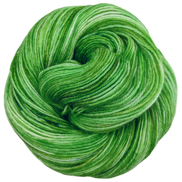 Knitcircus Yarns: Lucky Charm 100g Speckled Handpaint skein, Breathtaking BFL, ready to ship yarn