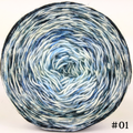 Knitcircus Yarns: Cumulonimbus 100g Impressionist Gradient, Trampoline, choose your cake, ready to ship yarn