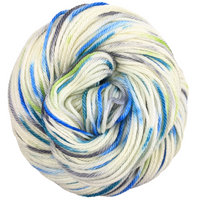 Knitcircus Yarns: Growing Like A Weed 100g Speckled Handpaint skein, Ringmaster, ready to ship yarn