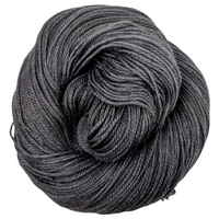 Knitcircus Yarns: Fade to Black 100g Kettle-Dyed Semi-Solid skein, Opulence, ready to ship yarn