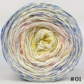 Knitcircus Yarns: Bundle of Joy 100g Impressionist Gradient, Parasol, choose your cake, ready to ship yarn