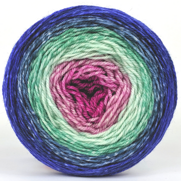 Knitcircus Yarns: Birthday Wish 100g Panoramic Gradient, Flying Trapeze, ready to ship - SALE