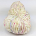 Knitcircus Yarns: Conversation Hearts 100g Speckled Handpaint skein, Spectacular, ready to ship yarn