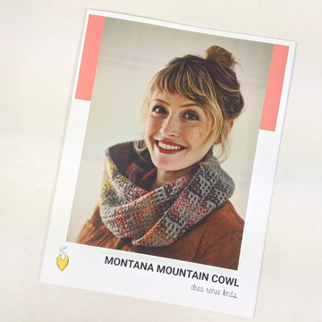 Pattern - Montana Mountain Cowl, by Andrea Mowry, ready to ship