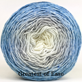 Knitcircus Yarns: Frosted Windowpanes Panoramic Gradient, dyed to order yarn