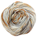 Knitcircus Yarns: Where There's Smoke 100g Speckled Handpaint skein, Greatest of Ease, ready to ship yarn