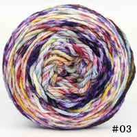 Knitcircus Yarns: Simply Splendid 100g Modernist, Ringmaster, choose your cake, ready to ship yarn