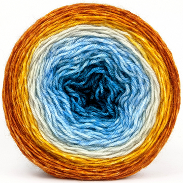 Knitcircus Yarns: Are We There Yet? 100g Panoramic Gradient, Breathtaking BFL, ready to ship yarn - SALE