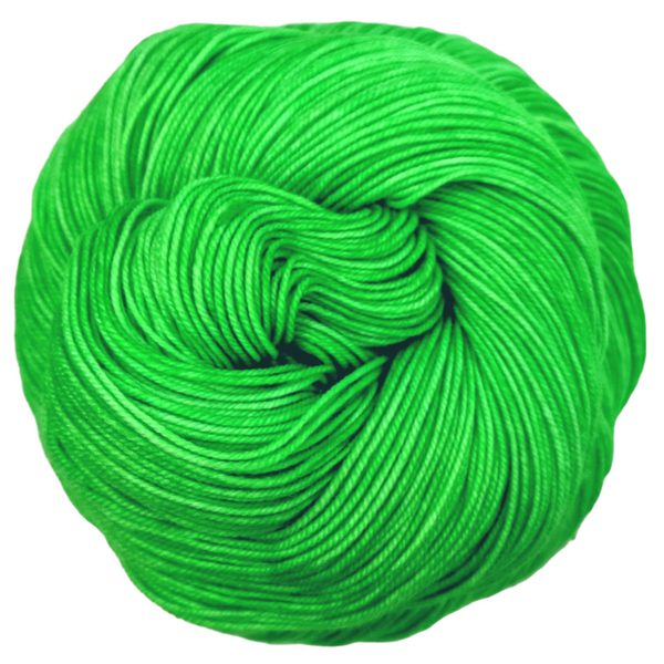 Knitcircus Yarns: Backstage Pass 50g Kettle-Dyed Semi-Solid skein, Trampoline, ready to ship yarn