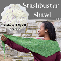 Stashbuster Shawl Yarn Pack, pattern not included, dyed to order