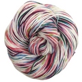 Knitcircus Yarns: Sugar Plum Fairy 100g Speckled Handpaint skein, Greatest of Ease, ready to ship yarn