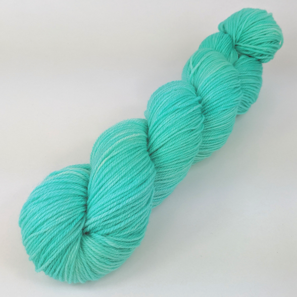 Knitcircus Yarns: Crowd Surfing 100g Kettle-Dyed Semi-Solid skein, Breathtaking BFL, ready to ship yarn