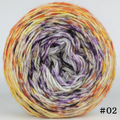 Knitcircus Yarns: Something Wicked 100g Impressionist Gradient, Opulence, choose your cake, ready to ship yarn