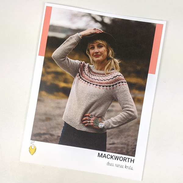Pattern - Mackworth, by Andrea Mowry, ready to ship