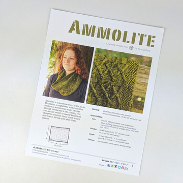 Pattern - Ammolite, by Tin Can Knits, ready to ship - SALE