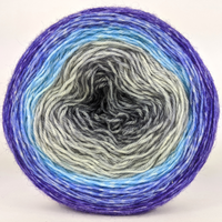 Knitcircus Yarns: Kindness is Everything 100g Panoramic Gradient, Breathtaking BFL, ready to ship yarn