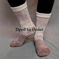 Knitcircus Yarns: Freshly Brewed Chromatic Gradient Matching Socks Set, dyed to order yarn