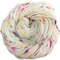 Knitcircus Yarns: Welcome to the Good Place 100g Speckled Handpaint skein, Ringmaster, ready to ship yarn