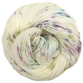 Knitcircus Yarns: Just Beet It 100g Speckled Handpaint skein, Trampoline, ready to ship yarn