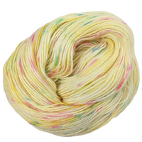 Knitcircus Yarns: Cindy Lou Who 100g Speckled Handpaint skein, Breathtaking BFL, ready to ship yarn