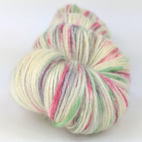 Knitcircus Yarns: Tis the Season 100g Speckled Handpaint skein, Breathtaking BFL, ready to ship yarn