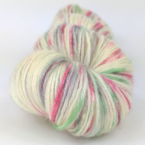 'Tis the Season 100g Speckled Handpaint skein, Breathtaking BFL, ready to ship
