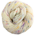 Knitcircus Yarns: Welcome to the Good Place 100g Speckled Handpaint skein, Spectacular, ready to ship yarn