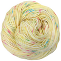 Knitcircus Yarns: Cindy Lou Who 100g Speckled Handpaint skein, Greatest of Ease, ready to ship yarn