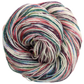 Knitcircus Yarns: Sugar Plum Fairy 100g Speckled Handpaint skein, Sparkle, ready to ship yarn