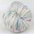 Knitcircus Yarns: As You Wish 100g Speckled Handpaint skein, Flying Trapeze, ready to ship yarn - SALE