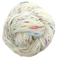 Knitcircus Yarns: Over the Rainbow 100g Speckled Handpaint skein, Sparkle, ready to ship yarn