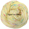 Knitcircus Yarns: Cindy Lou Who Speckled Handpaint Skeins, dyed to order yarn