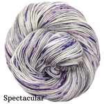 Knitcircus Yarns: Joie de Vivre Speckled Handpaint Skeins, dyed to order yarn