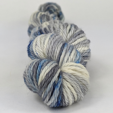 Knitcircus Yarns: Fishing in Quebec 50g Speckled Handpaint skein, Ringmaster, ready to ship yarn