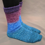 Knitcircus Yarns: Voyage of the Yarn Treader Panoramic Gradient Matching Socks Set, dyed to order yarn
