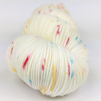Knitcircus Yarns: Imaginary Best Friend 100g Speckled Handpaint skein, Trampoline, ready to ship yarn - SALE