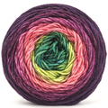 Knitcircus Yarns: Just Beet It 100g Panoramic Gradient, Divine, ready to ship yarn