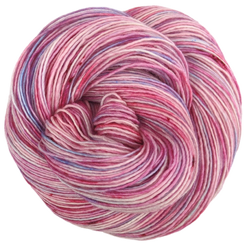 Knitcircus Yarns: Life is a Bowl of Cherries 100g Speckled Handpaint skein, Spectacular, ready to ship yarn