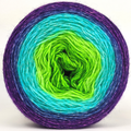 Knitcircus Yarns: Monstropolis 150g Panoramic Gradient, Breathtaking BFL, ready to ship yarn