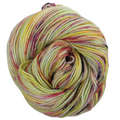 Knitcircus Yarns: Easy Peasy Lemon Squeezy 100g Speckled Handpaint skein, Divine, ready to ship yarn