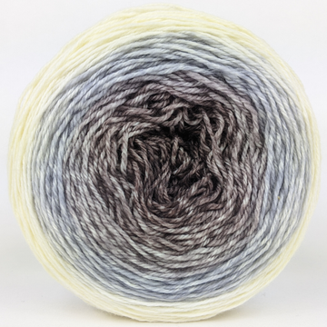 Knitcircus Yarns: The Lonely Mountain 100g Panoramic Gradient, Flying Trapeze, ready to ship yarn