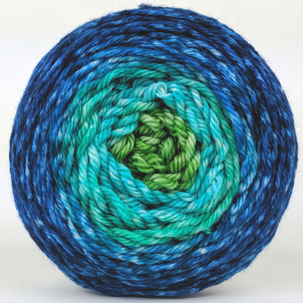 Knitcircus Yarns: Dive Right In 100g Panoramic Gradient, Ringmaster, ready to ship yarn