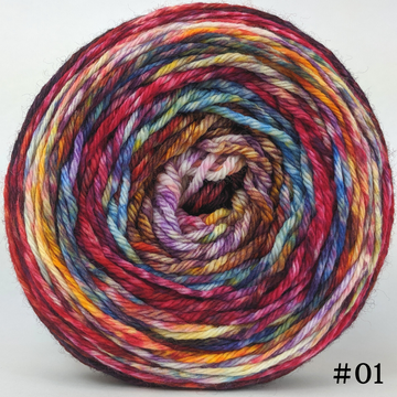 Knitcircus Yarns: Hello Jello 150g Modernist, Ringmaster, choose your cake, ready to ship yarn
