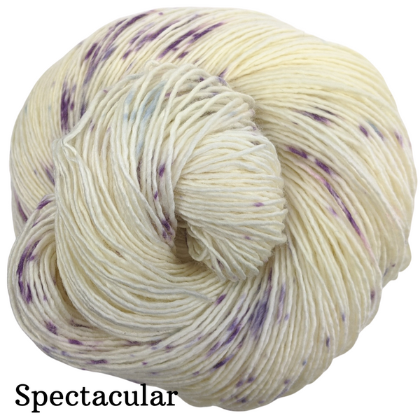 Knitcircus Yarns: Mistress of Myself Speckled Handpaint Skeins, dyed to order yarn