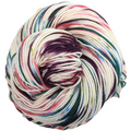 Knitcircus Yarns: Sugar Plum Fairy 100g Speckled Handpaint skein, Trampoline, ready to ship yarn