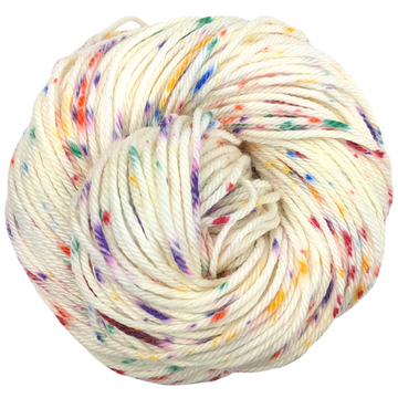 Knitcircus Yarns: Over the Rainbow 100g Speckled Handpaint skein, Ringmaster, ready to ship yarn