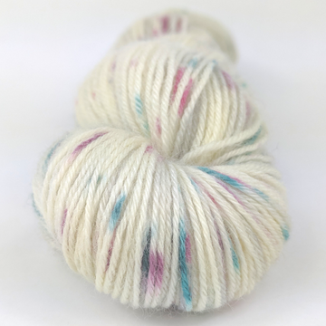Knitcircus Yarns: As You Wish 100g Speckled Handpaint skein, Breathtaking BFL, ready to ship yarn - SALE