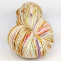 Knitcircus Yarns: Not My Gumdrop Buttons! 100g Speckled Handpaint skein, Spectacular, ready to ship yarn