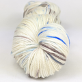 Knitcircus Yarns: Sweet Caroline 100g Speckled Handpaint skein, Parasol, ready to ship yarn - SALE